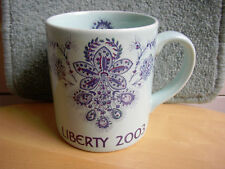 Mint Vtg Liberty of London Year Mug 2003 Poole Pottery ceramic Cup Duck egg Blue