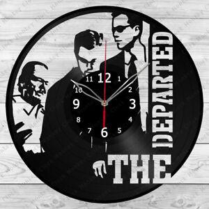 Vinyl Clock The Departed Vinyl Record Wall Clock Home Art Decor Handmade 4927