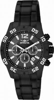 Invicta Specialty 1505 Men's Round Black Chronograph Date Stainless Steel Watch