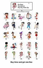 Personalized Return Address Labels Betty Boop Buy 3 get 1 free(mo8)