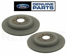 For Ford Edge Ford Edge Set of Two Rear Brake Disc Rotors Genuine BT4Z-2C026-B