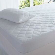 """Extra Large Quilted Polycotton Pillow Protectors 22"""" x 31"""" - 1 Pair"""