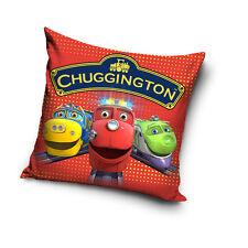 NEW LICENSED CHUGGINGTON TRAINS 02 cushion cover 40x40cm 100% COTTON pillowcase