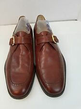 Men's Dress Formal Bruno Magli Made In Italy Ethan Brown Leather Dress Shoes