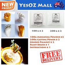 3D Baby Casting DIY Kit 200g Moulding 400g Casting Gold Pigment Hands & Feet
