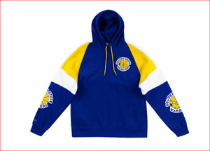 Mitchell And Ness C&S Instant Replay Hoody Golden State Warriors Neu