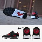 NIKE Air Max 90 Ultra 2.0 Essential Running Shoes Black Red 875695-007 SIZE 7-11