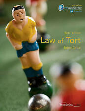 Law of Tort by John Cooke (Paperback, 2011)