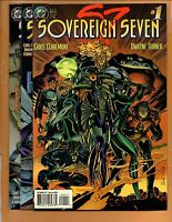 Sovereign Seven #1 2 3 High Grade NM to NM+