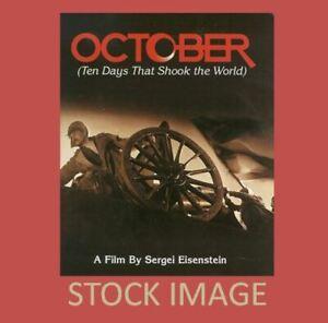 Vintage 4 x 400 Reels 8 mm movie OCTOBER - 10 Days That Shook The World - 1927