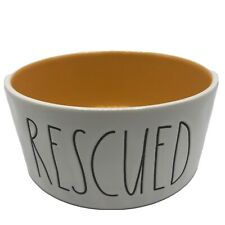 Rae Dunn Artisan Collection by Magenta RESCUED Dog Dish Bowl NEW