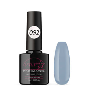 092 LETUTE™ Gray Purple Soak Off UV/LED Nail Gel Polish