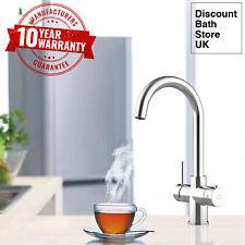 Instantánea Caliente/agua hirviendo grifo de cocina 3 en 1 Agua Caliente/Frío & Unidad De Calefacción