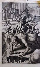 Sebastiano Ricci engraving 1799 Superbea fine laid paper rare very old