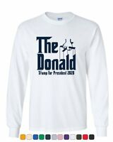 The Donald Long Sleeve T-Shirt Funny Parody Trump American President 2020 Tee