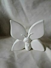 """Fairy Butterfly 3.25"""" x 4"""" Ready to Paint Ceramic Bisque"""