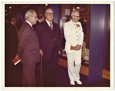 OLD VINTAGE OFFICIAL USMC PHOTO MARINE GENERAL GERALD THOMAS & HERBERT WILKERSON