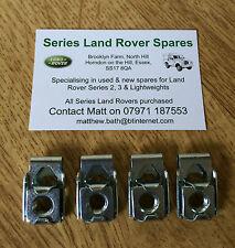 Land Rover Series M8 Bulk Head Door Hinge Captive J Nuts 4 X ASR1459