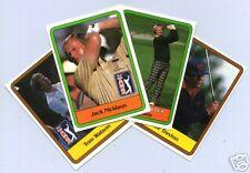 1981 Donruss Golf Complete Card Set Jack Nicklaus Mint