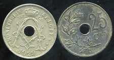 BELGIQUE 25 centimes 1929 ( belgie)   ( bis )
