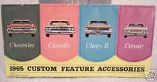 **LOOK** 1965 Chevrolet Custom Features Guide 65 Chevy