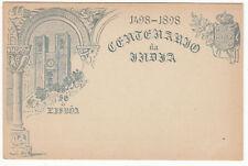 CARTE ENTIER POSTALE NEUF PORTUGAL COLONIE MADEIRA LISBOA  1498 / 1898