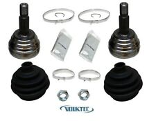 (PAIR) Drive Shaft CV Joint Kit Front Outer VW Golf GTi GT Cabrio 1985-92