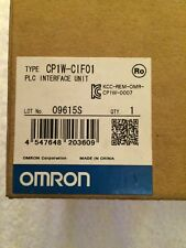 Omron PLC interface unit CP1W-CIF01