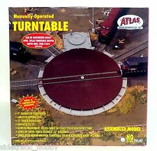HO Scale Code 100 Atlas 305 Manually Operated Turntable