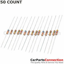 50 X 100 Ohm Flame Retardant Carbon Film Resistors 14 Watt 5 Shipping From Us