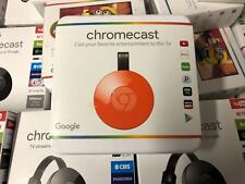 Brand New Google Chromecast Digital HD Media Streamer 2nd Generation Red