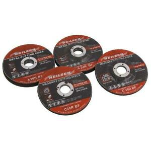 """Cutting and Grinding wheel discs 10 Pce Set For metal and stone 115 mm  4.5"""""""