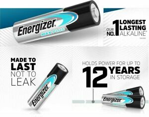 Energizer AA Ultimate Lithium 4 Pack Batteries 12 yrs Shelf Life New & Sealed