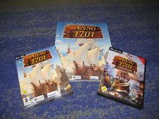 ANNO 1701 offizielles Lösungsbuch Strategiebuch und PC Spiel und Erweiterung