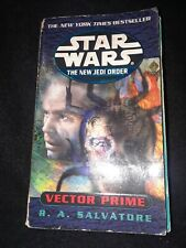Star Wars New Jedi Order Vector Prime Salvatore 2000 sci-fi novel sweu mmpb tpb