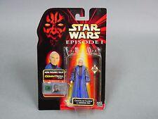 Vintage Star Wars CHANCELLOR VALORUM Comm Tech Chip Ep.1 Action Figure  #rs3-