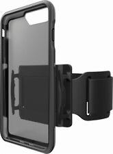 BodyGuardz Trainr Pro Case for iPhone 8/7/6s Plus - Gray/Black/Transparent - VG