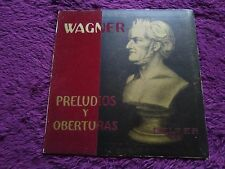 Wagner Preludios y Oberturas , Vinyl, LP, 1959 , Spain , 30.151