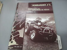 Bombardier OEM Parts Catalog Manual Traxter XL 704300120