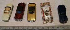 1948 Ford Pick-Up Truck, Corgi Porsche Racer + 3 Automobiles for Lionel Trains