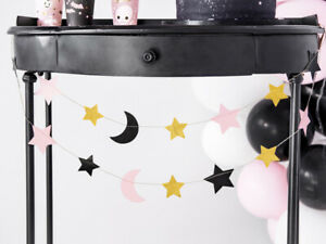 Garland Stars and moons Halloween Decorations Kids Party Baby Shower