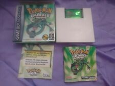 Pokemon Emerald for Gameboy Advance - PAL - Boxed with manual, Needs new battery