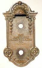 BRUNSWICK 3NW8 / RCA RADIOLA AR-764 CONSOLE part : LEFT SIDE KNOB PANEL w/screws