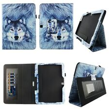 Wolf Fit for Samsung Galaxy Tab 4 10.1 10 inch Tablet Case Cover ID Slot