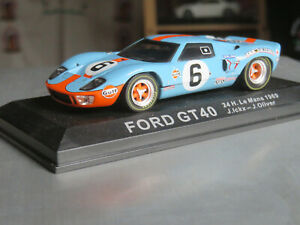 IXO/ALTAYA FORD GT 40  # 6 ICKX/OLIVER 24H DU MANS LM 1969