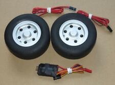 JP 86mm Brake Wheel Set for RC Fixed Wing Model Airplane Retract Spare Parts