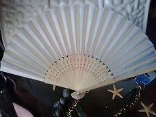 ventaglio in bambu bamboo per matrimonio bianco cerimonia chiesa ventagli sposa