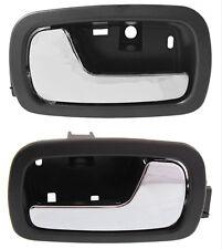 New 05-10 Chevy Cobalt Pontiac G5 Front Inner Driver & Passenger Door Handle Set