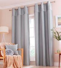 """Catherine Lansfield Opulent Velvet Curtains 66x54"""" - Duckegg"""