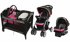Baby Stroller Travel System Newborn Car Seat Nursery Playard Crib Graco